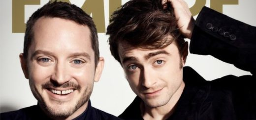 Elijah Wood and Daniel Radcliffe are pictured together on Empire magazine's cover.