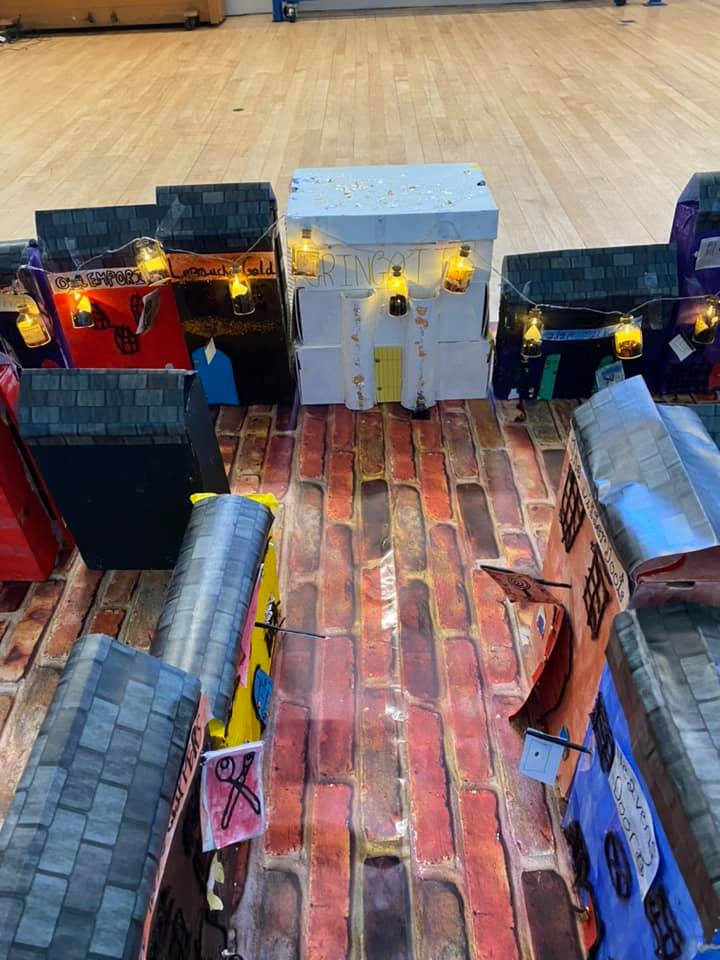 Shops in Diagon Alley creation