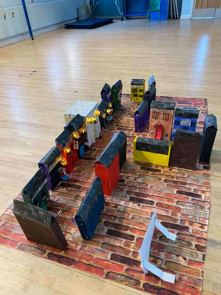 Diagon Alley creation