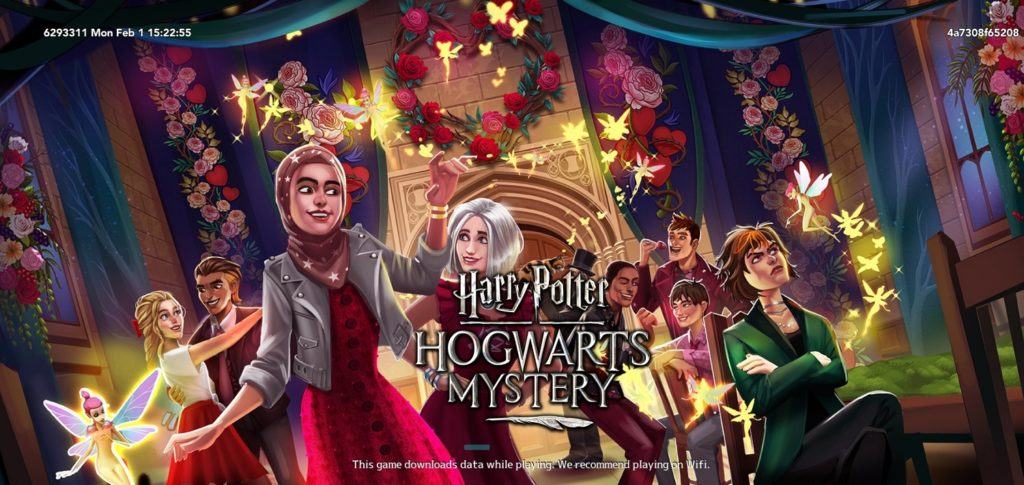 """The gang from """"Hogwarts Mystery"""" is gearing up for a school dance as Valentine's Day approaches."""