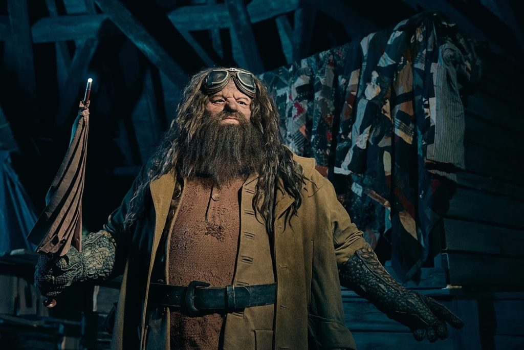This figure of Hagrid can be found in his Motorbike Adventure ride at Universal Studios