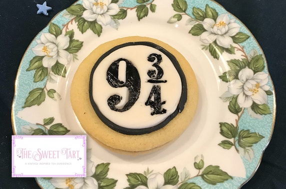 "The ""9 ¾ empire biscuit"" will also be offered on the Sweet Tart's upcoming ""Harry Potter""-themed afternoon tea menu."