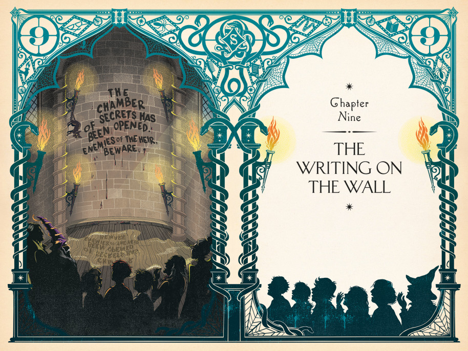 """MinaLima's illustrated """"Sorcerer's Stone"""" was released last October."""