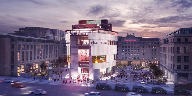 The proposed designs for the new Filmhouse, Edinburgh