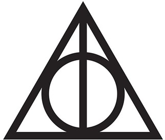 the deathly hallows symbol