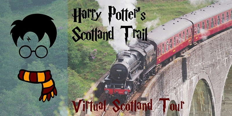 """Capture the essence of Scotland from your own home with the """"Harry Potter"""" Scotland Train Virtual Tour."""
