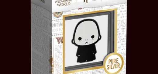 New Zealand Mint Voldemort chibi