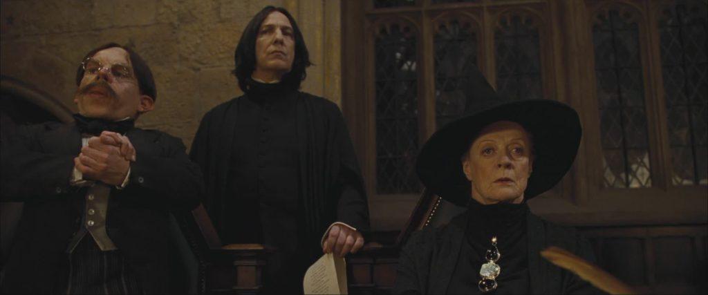 Flitwick Snape McGonagall