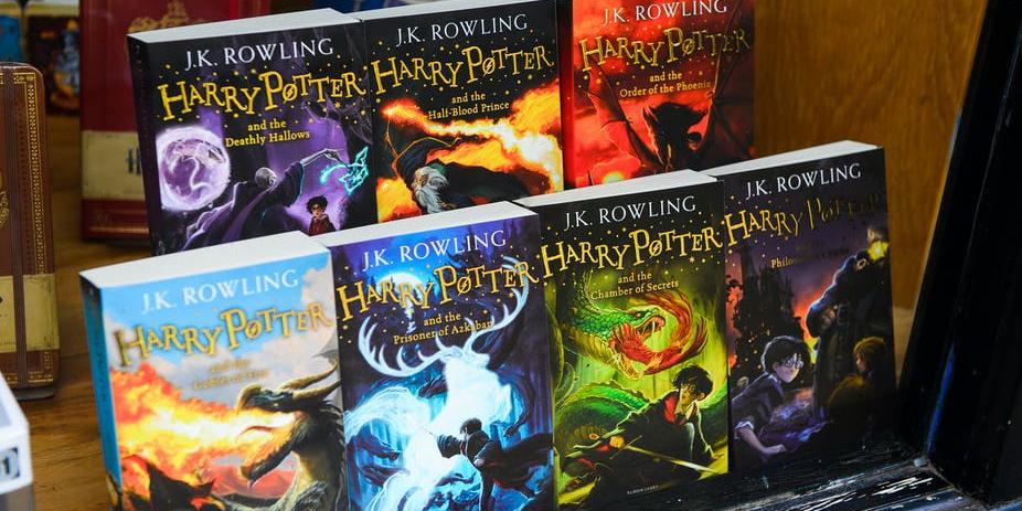 Harry Potter Bloomsbury set