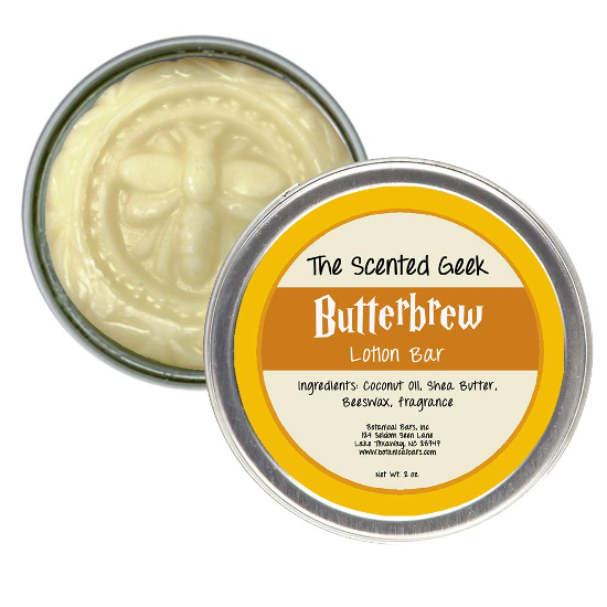 The Butterbrew Lotion Bar from Botanical Bars is shown as pictured on Amazon.