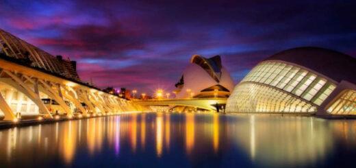 The city of Valencia, Spain