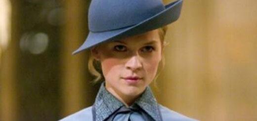 Fleur Delacour in her Beauxbatons uniform