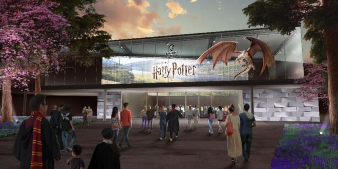 A concept image of Warner Bros. Studio Tour in Tokyo