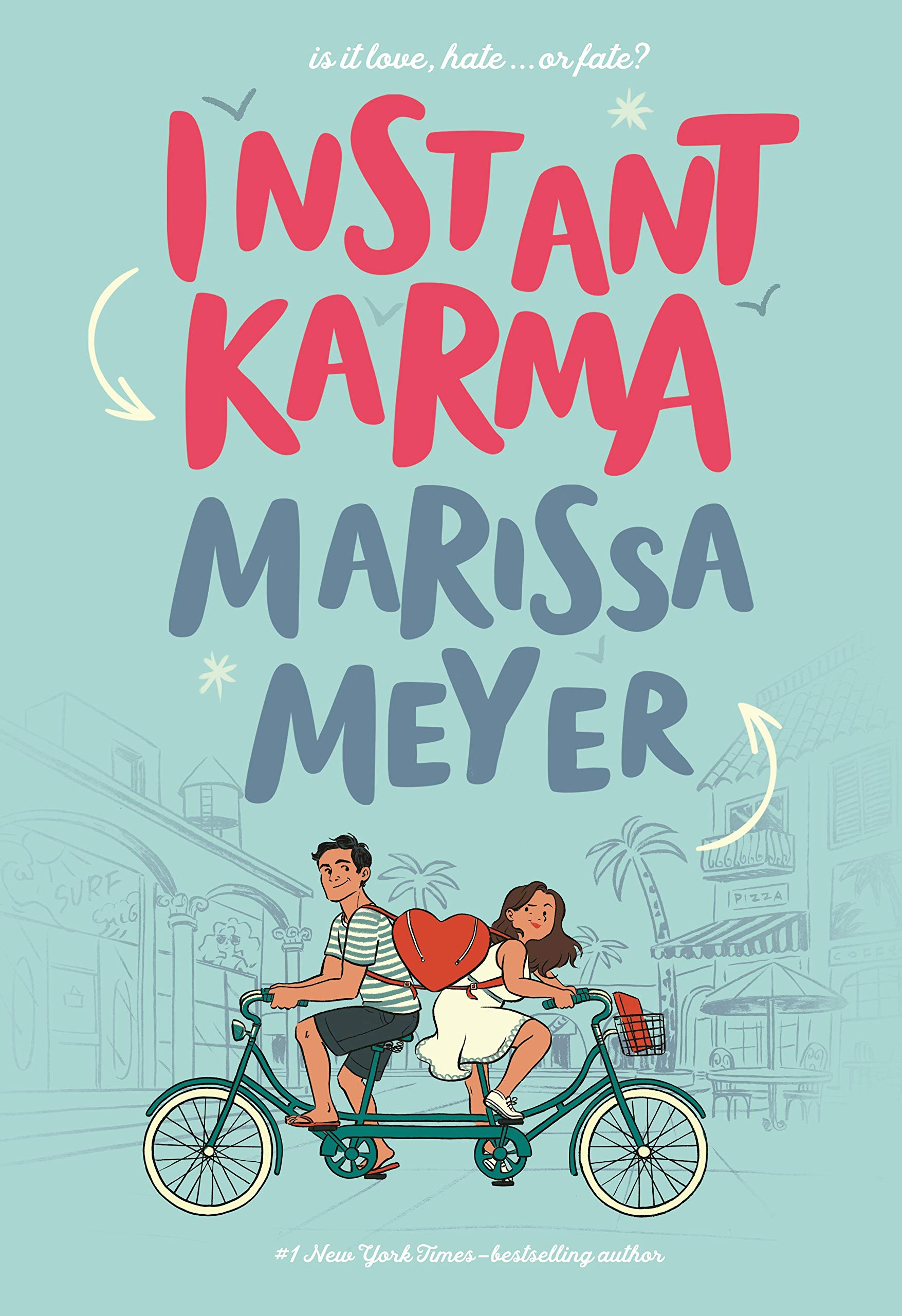 Book cover of'Instant Karma' by Marissa Meyer