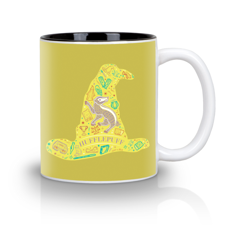 Loot Crate Hufflepuff mug