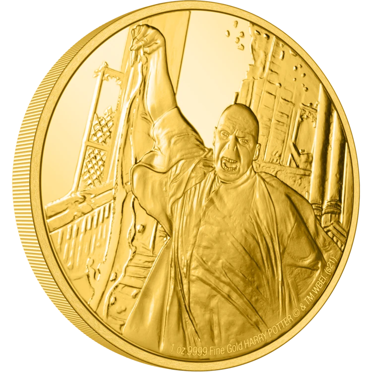 New Zealand Mint – HARRY POTTER™ Classic – Lord Voldemort 1oz Gold Coin