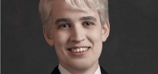 "Actor Nyx Calder is pictured in character as Scorpius Malfoy in a promotional image for the Melbourne production of ""Harry Potter and the Cursed Child."""