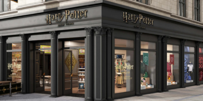 """""""Harry Potter"""" store in New York"""