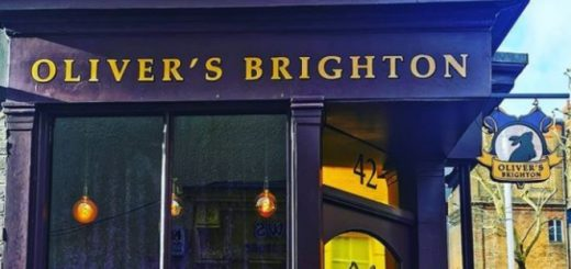 An outside view of Oliver's Brighton