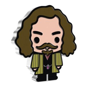Front of the Sirius Black chibi coin