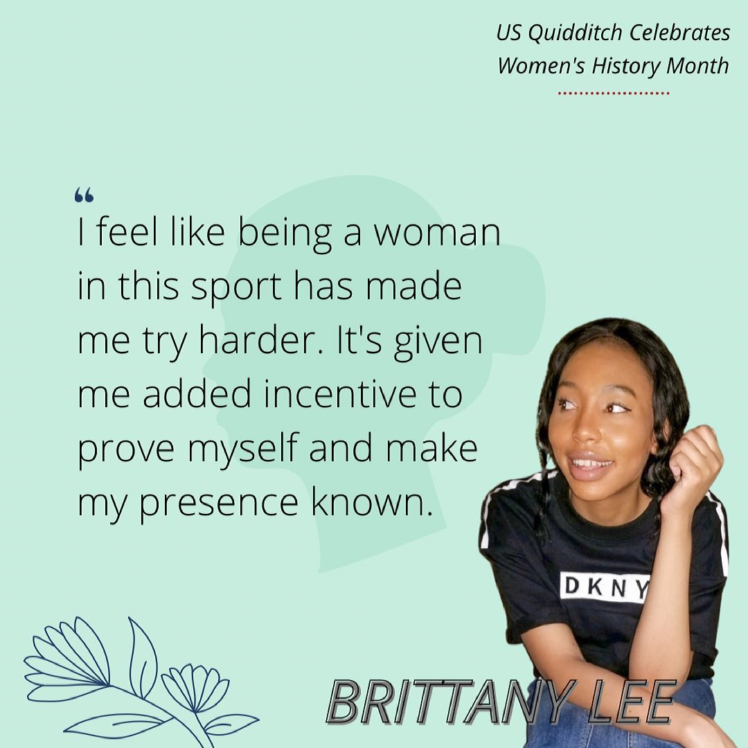 Brittany Lee talks about her experience as a woman in Muggle quidditch.
