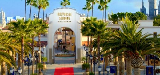 Universal Studios Hollywood main entrance