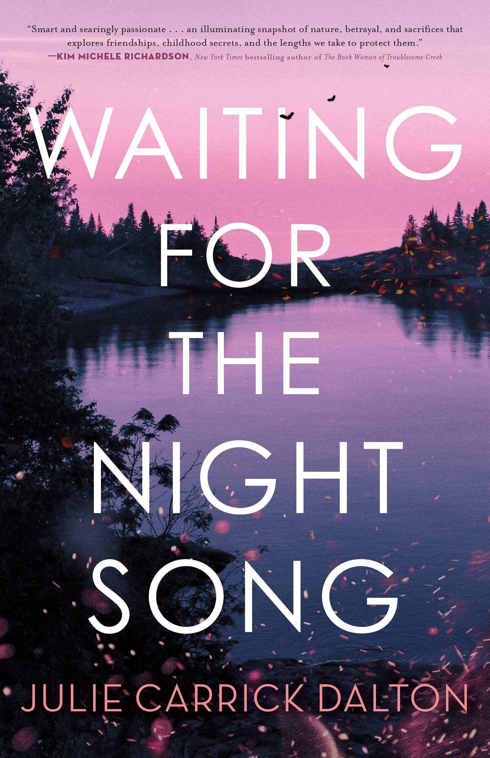 Book cover of'Waiting for the Night Song' by Julie Carrick Dalton