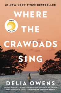 Book cover of 'Where the Crawdads Sing' by Delia Owens