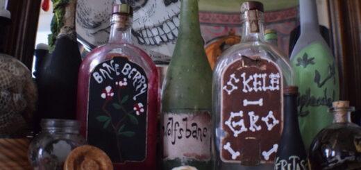 DIY potion bottle craft
