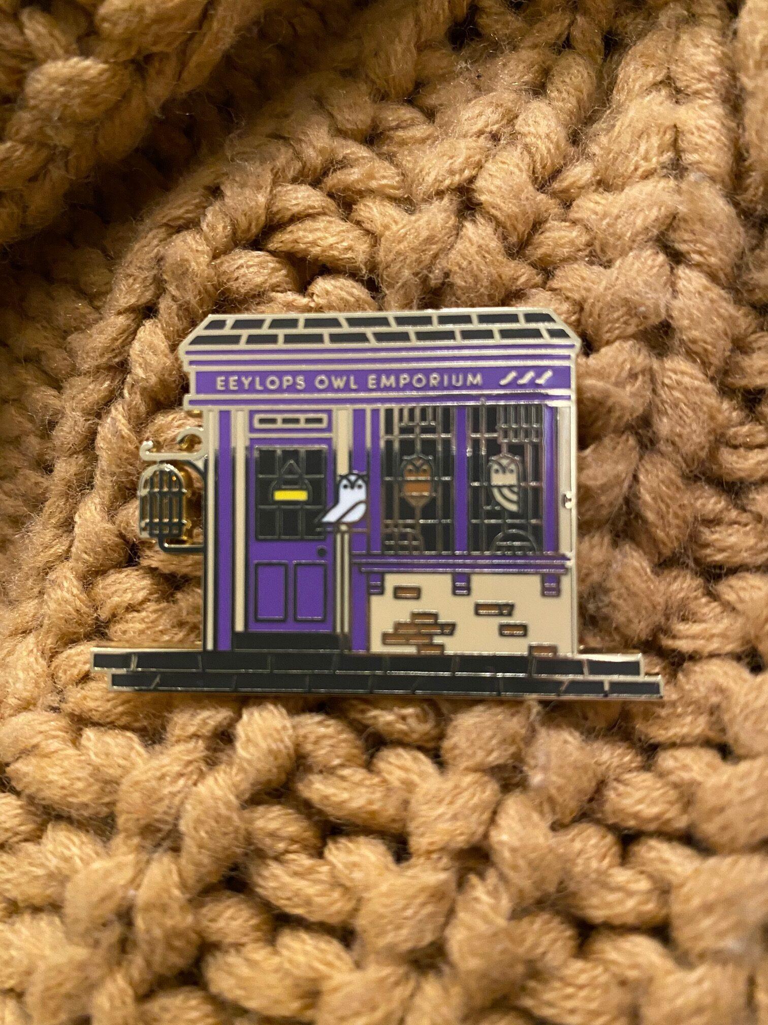Eeyelops Owl Emporium Pin