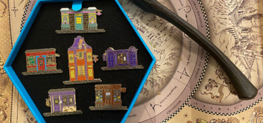 FT Shops of the Wizarding World Pins on Map with Wand (1)