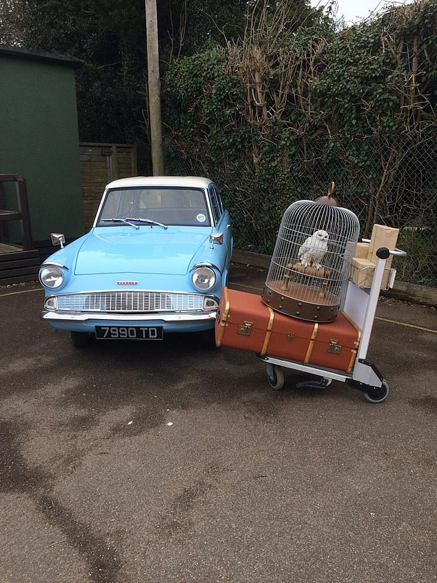 Stolen Ford Anglia has yet to be returned to the rightful owner, even after the thief was caught.