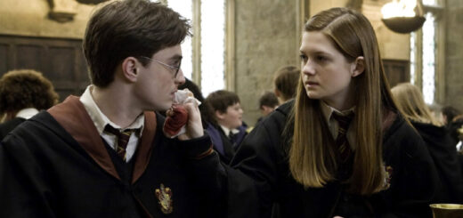 Harry and Ginny in Half Blood Prince