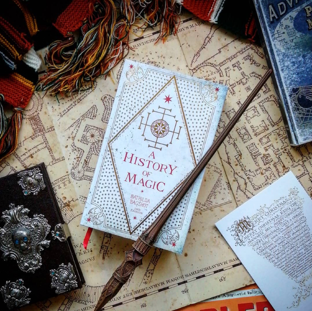 Learn everything you need to know about the history of magic with this replica of the fictional book.