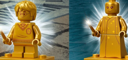 "LEGO ""Harry Potter"" golden minifigures"
