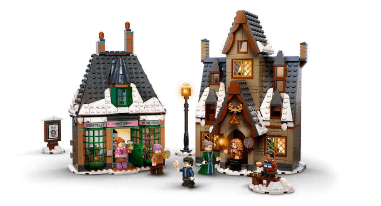 LEGO's 20th Anniversary Village Visit set.