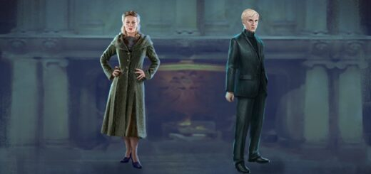 """To begin May 2021, the first Adversaries Event in """"Harry Potter: Wizards Unite"""" will feature Draco Malfoy and his mother, Narcissa Malfoy, as a tribute to the late Helen McCrory."""