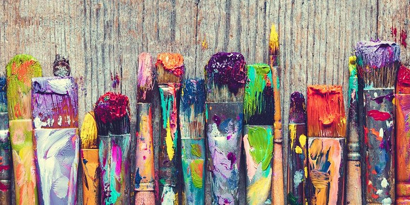 Get messy with an after-school paint party and create something amazing.