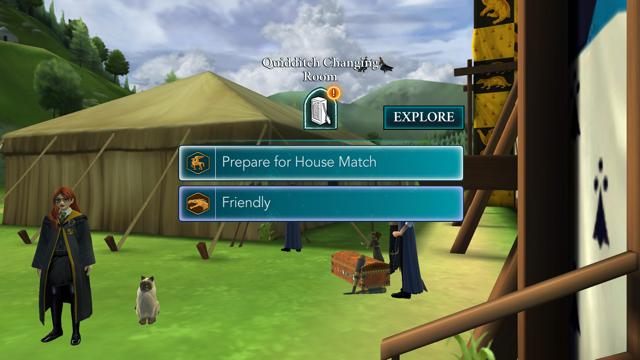 Quidditch Screen