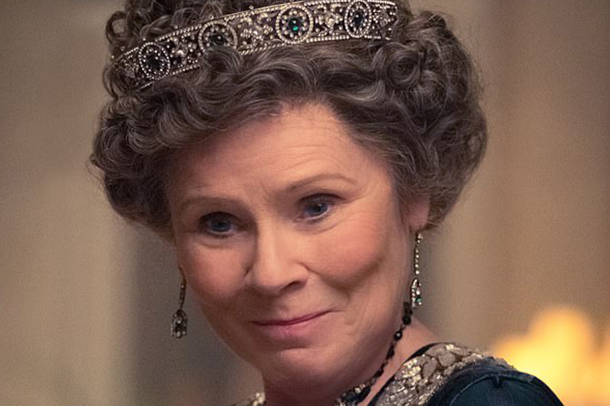 """Imelda Staunton will star as the Queen for the next two seasons of """"The Crown."""""""