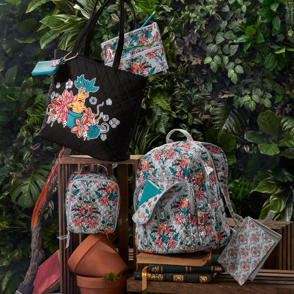 "Vera Bradley releases new Botanical ""Harry Potter"" merchandise."