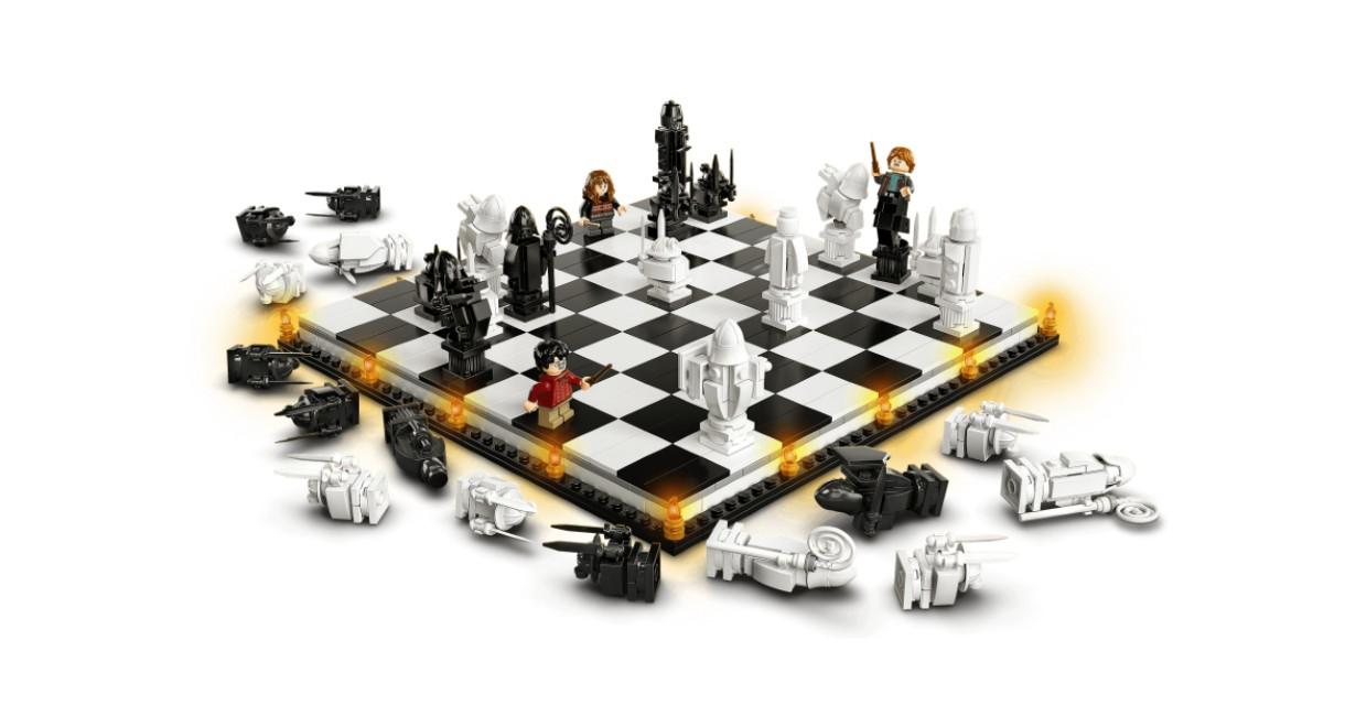 LEGO's 20th Anniversary Wizard's Chess set.
