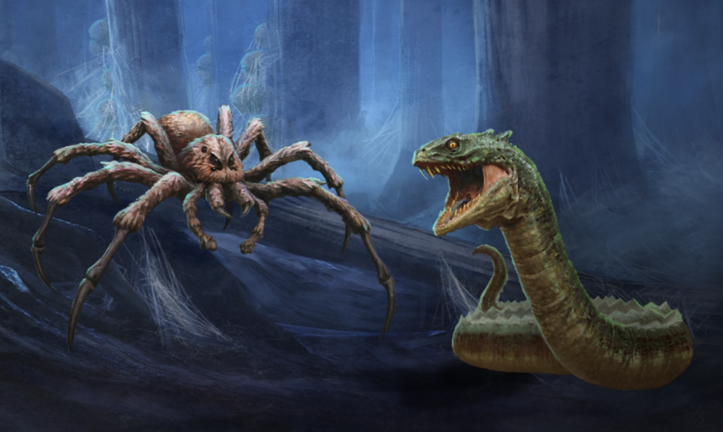 "The second Adversaries Event in April 2021 begins on April 12 and features Aragog and the Basilisk. Both were introduced in ""Harry Potter and the Chamber of Secrets."""