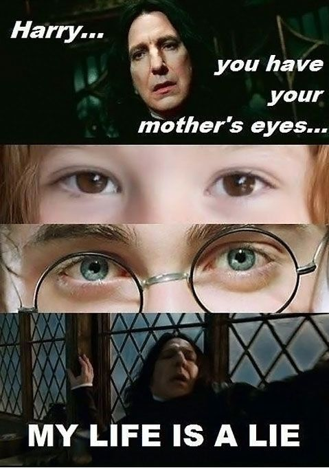 Harry you have your mother's eyes