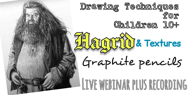 Draw the lovable Hagrid via an online class.