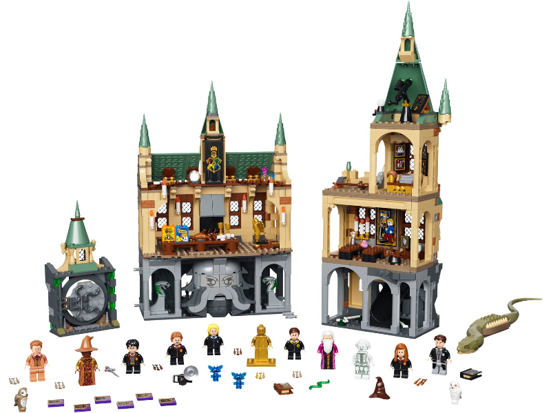 This is 76389 Hogwarts Chamber of Secrets set from LEGO Harry Potter.