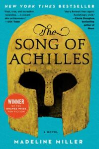Book cover of 'The Song of Achilles' written by Madeline Miller