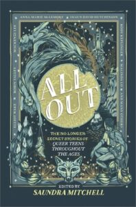 Book cover of All Out written by Saundra Mitchell