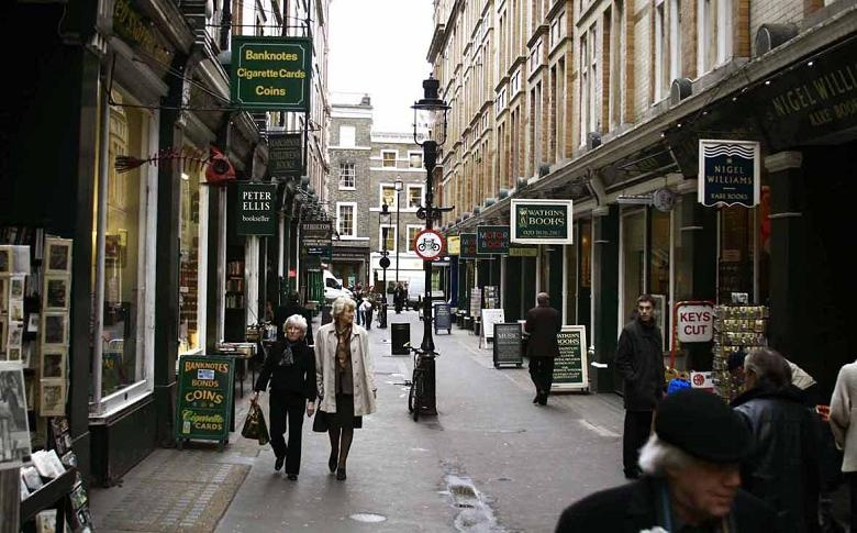 Charing Cross Road is believed to be one of the inspirations for Diagon Alley.
