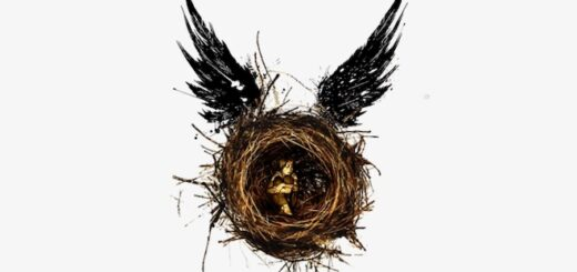"""This is the logo for """"Harry Potter and the Cursed Child."""""""